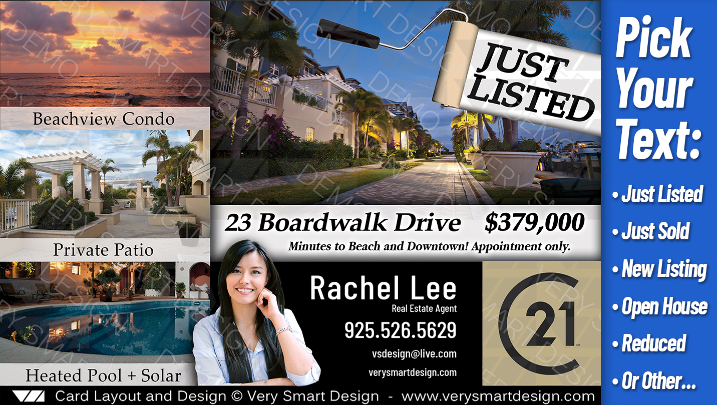 new property promotion real estate templates best postcards century