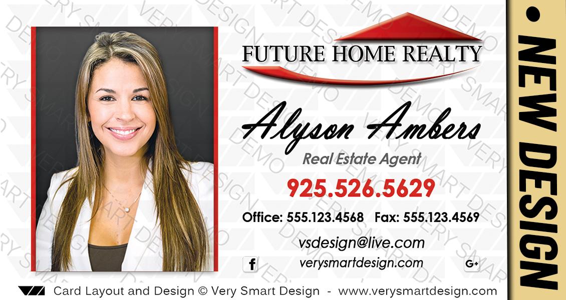 Custom future home realty business card templates for fhr realtors white and red custom future home realty business card templates for fhr realtors 5a colourmoves