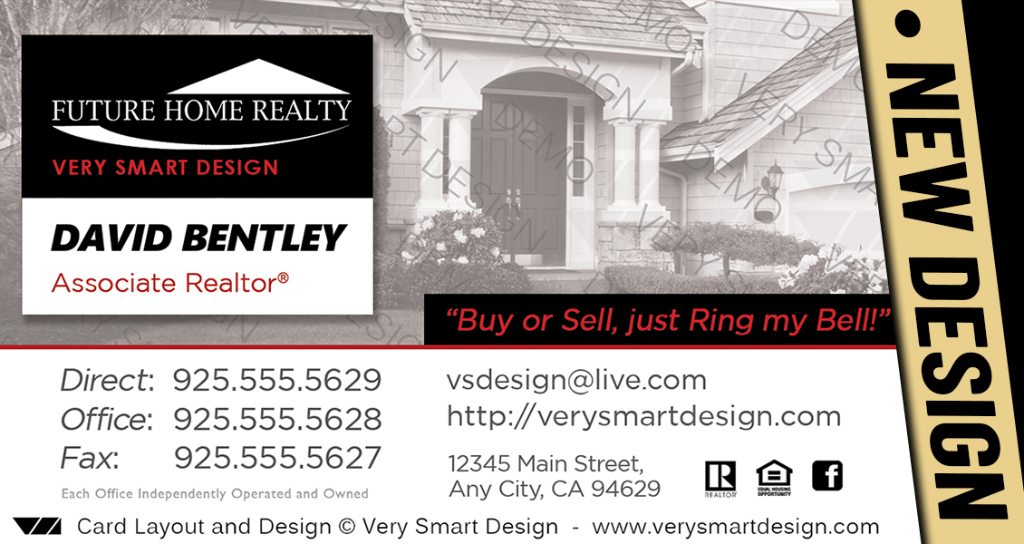 Custom future home realty business card templates for fhr realtors white and black custom future home realty business card templates for fhr realtors 21b cheaphphosting Image collections