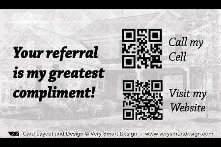 Custom century 21 new logo business card designs for c21 4d gold and real estate agent business card with qr code back design 9 design image via very colourmoves