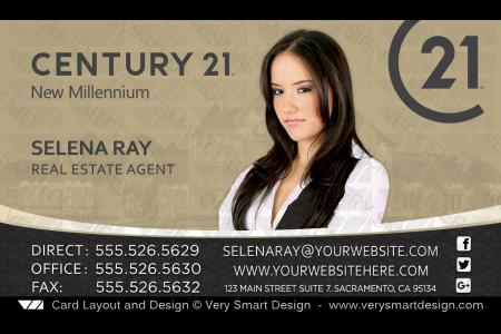 New Century 21 Business Cards 19 Designed Shipped