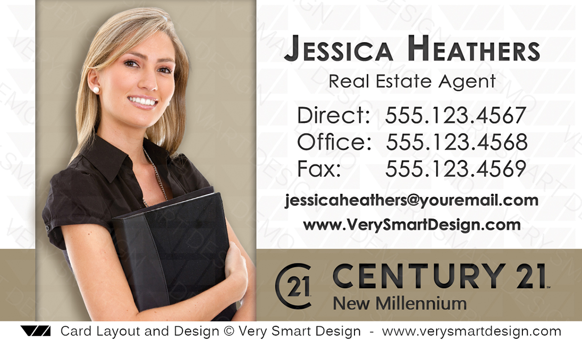 Century 21 realty new logo business cards templates for c21 realtors white and gold century 21 realty new logo business cards templates for c21 realtors 14c flashek Gallery