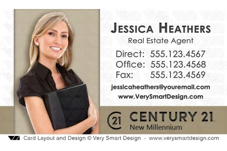 Century 21 realty new logo business cards templates for c21 realtors white and gold century 21 realty new logo business cards templates for c21 realtors 14c colourmoves