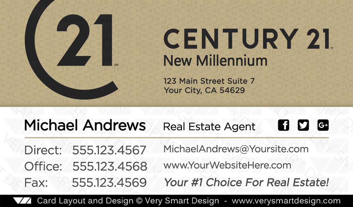 Century 21 real estate business card design with new c21 logo 16a gold and white century 21 real estate business card design with new c21 logo 16a colourmoves