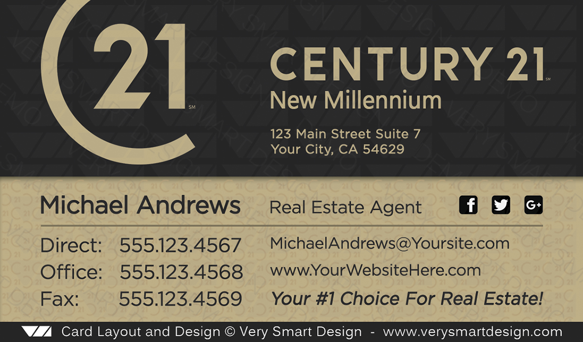 Century 21 realtor new logo business cards for c21 associates 16d dark gray and gold century 21 realtor new logo business cards for c21 associates 16d friedricerecipe Gallery