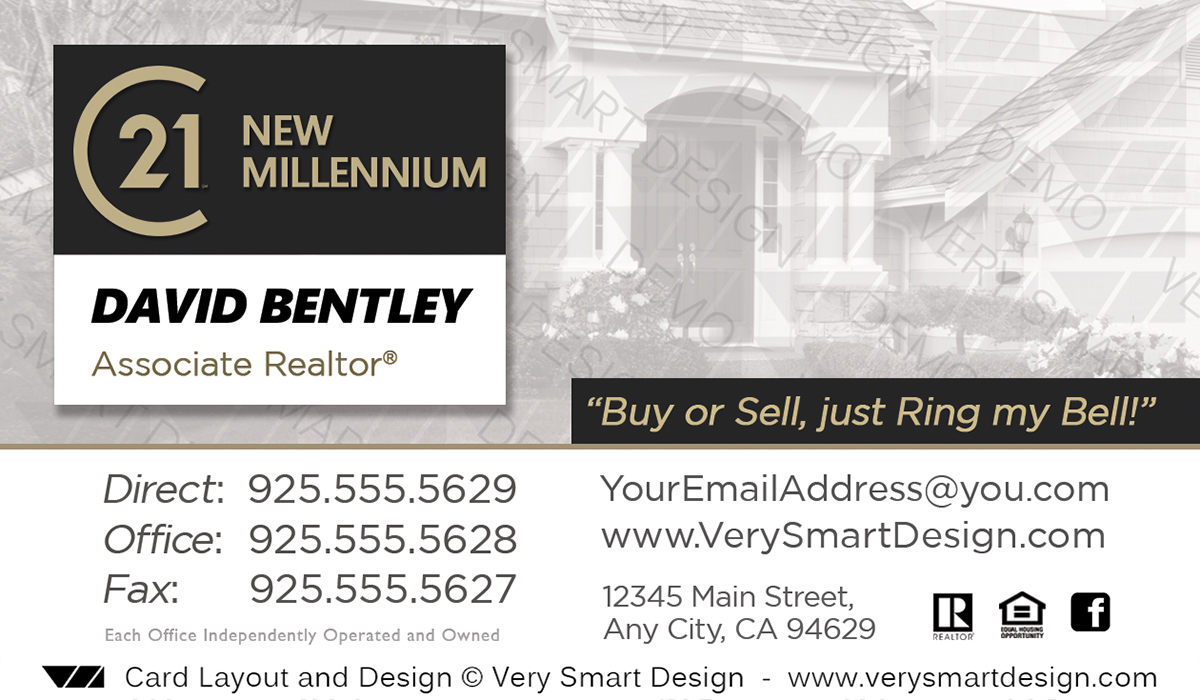 New logo business cards for century 21 real estate agents in usa 21a white and dark gray new logo business cards for century 21 real estate agents in usa colourmoves
